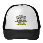 Camisetas forenses divertidas del científico gorras de camionero
