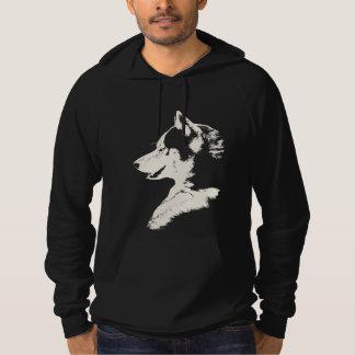 Camisetas fornido del perro de la sudadera con