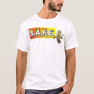 Camisetas frente del equipo de la seguridad y