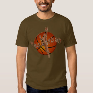 Camisetas frescas del baloncesto con el Layup de Playeras