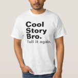 Camisetas fresco de Bro de la historia Playeras