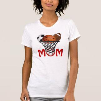 Camisetas fresco de la mamá de los deportes con camisas