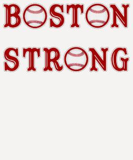 Camisetas fuertes del béisbol de Boston para las Poleras