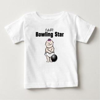 Camisetas futuras de la niña de la estrella de los playeras