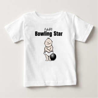 Camisetas futuras del bebé de la estrella de los camisas