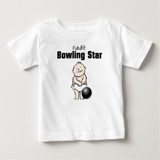 Camisetas futuras del bebé de la estrella de los