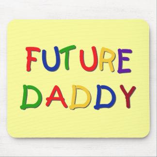 Camisetas futuras y regalos de los colores primari tapetes de ratón