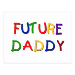 Camisetas futuras y regalos de los colores primari tarjetas postales