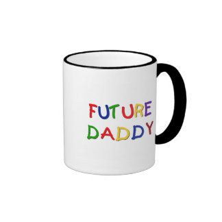 Camisetas futuras y regalos de los colores primari taza