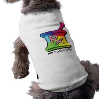 Camisetas gay y regalos del farmacéutico playera sin mangas para perro