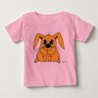 Camisetas gordo lindo del conejito