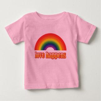 Camisetas gráficas del bebé gay - orgullo polera