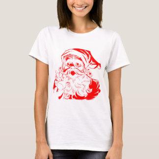 Camisetas gráficas del navidad de Santa