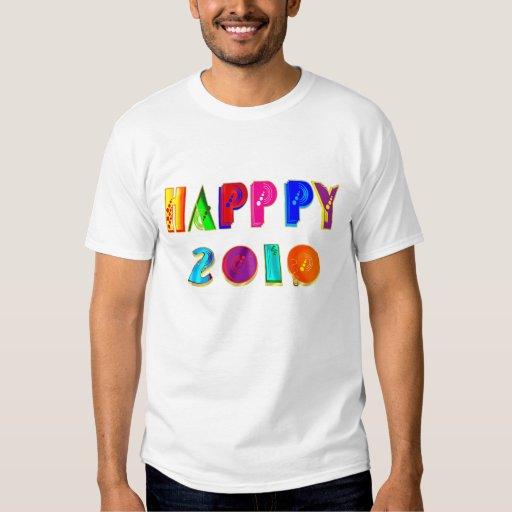 Camisetas happppy y regalos del Año Nuevo de Remera
