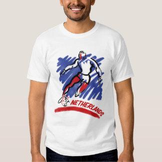 Camisetas holandesas de Swoosh del fútbol Playeras