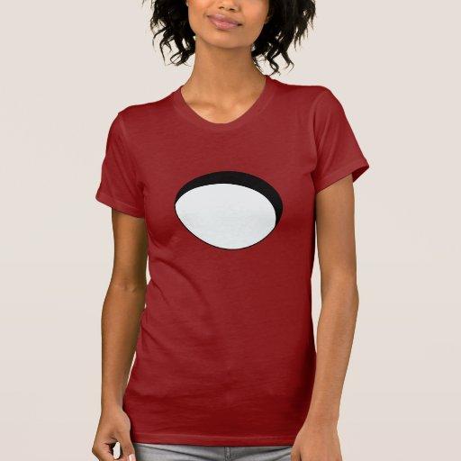 Camisetas huecos de las señoras del círculo