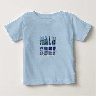 Camisetas impresas onda hawaiana de la Nalu-Resaca Remeras