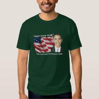 Camisetas inaugurales de la cita de Obama Playeras
