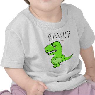 Camisetas infantil de T-Rex