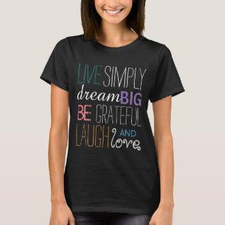 Camisetas inspiradas