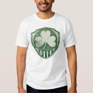 Camisetas irlandés estupendo del vintage camisas