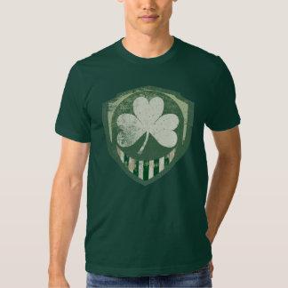 Camisetas irlandés estupendo del vintage polera