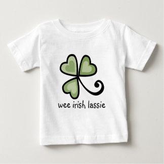 Camisetas irlandés pequenito del Lassie Playeras