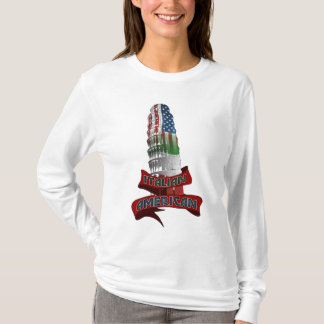 Camisetas italianas americanas de la ascendencia