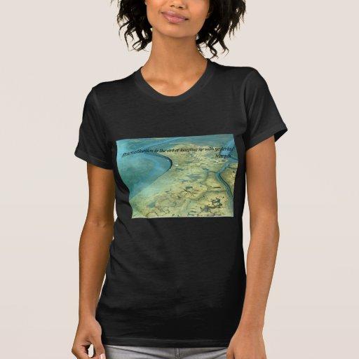 Camisetas:  La dilación es el arte de continuar Playera
