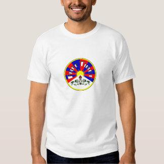 Camisetas libres de Tíbet Polera