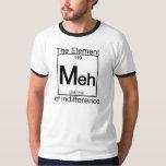Camisetas ligero del elemento MEH Playeras