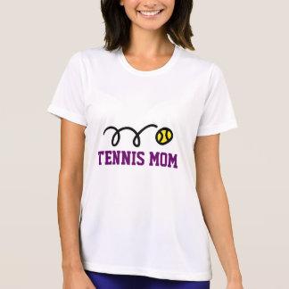 Camisetas lindas de la mamá del tenis para las