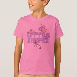 Camisetas lindas de la pequeña hermana de los