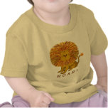 Camisetas lindas del león
