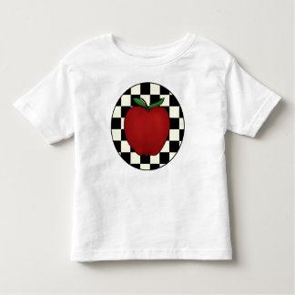 Camisetas lindas del niño de Apple