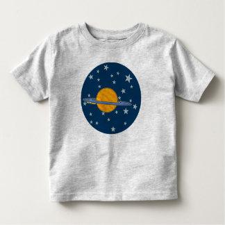 Camisetas lindas del niño de Saturn