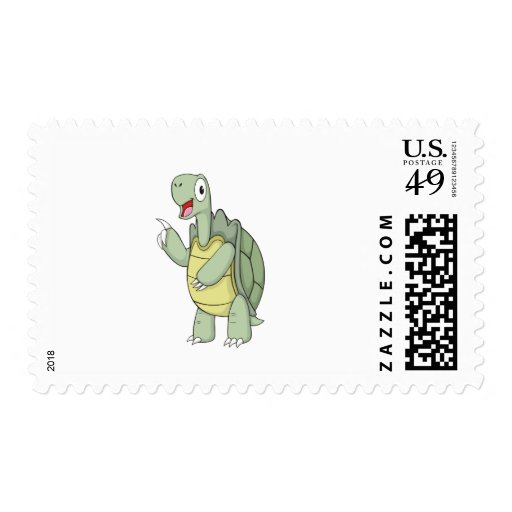 Camisetas lindo de la tortuga del dibujo animado sello