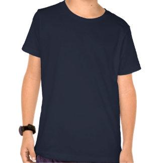 Camisetas lindo del arte de la ballena de la camis