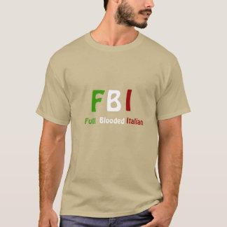 Camisetas llenas del italiano de Blooded del ~ del