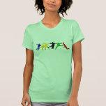 Camisetas menudo del balonmano para las mujeres playeras