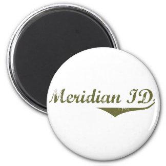 Camisetas meridianas de la revolución imanes