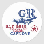 Camisetas militares del piloto de la aviación del etiqueta redonda