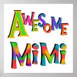 Camisetas Mimi y regalos impresionantes Posters