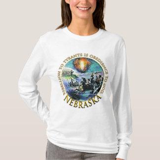 Camisetas Nebraska de la fiesta del té de Glenn