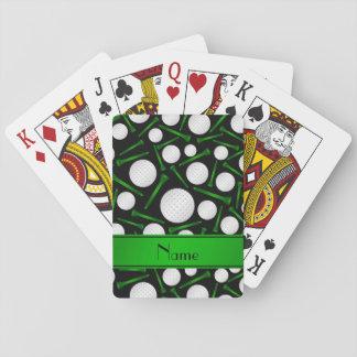 Camisetas negras conocidas personalizadas de las cartas de póquer