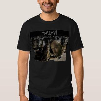 Camisetas negras para hombre de la verdad poleras