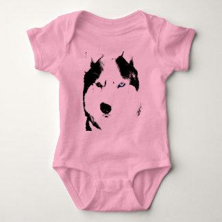 Camisetas orgánico de la enredadera del bebé del remeras