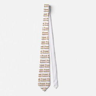 Camisetas orgullosas del marido del homosexual y l corbata personalizada