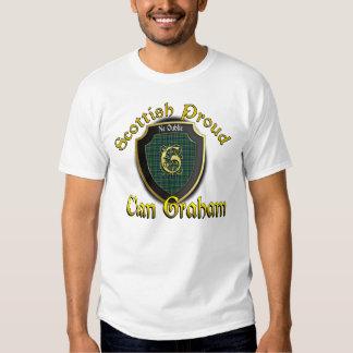 Camisetas orgulloso escocés de Graham del clan Playera