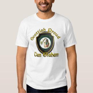 Camisetas orgulloso escocés de Graham del clan Playeras
